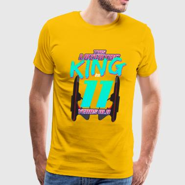 Lasertag - This King Is 11 Years Old - Men's Premium T-Shirt