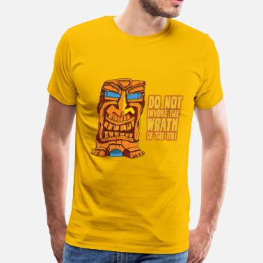 Tiki Bar Tiki Trouble - Men's Premium T-Shirt