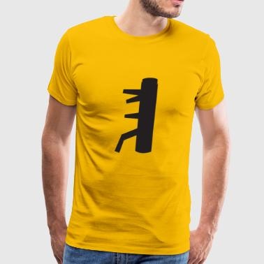 The Secret of the WING CHUN Dummy - Men's Premium T-Shirt