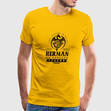 HERMAN - Men's Premium T-Shirt