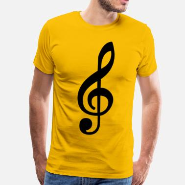 Music Note Music note - Men's Premium T-Shirt