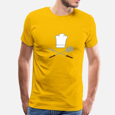 Grilled grill - Men's Premium T-Shirt
