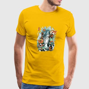 Make Art Not War - Men's Premium T-Shirt
