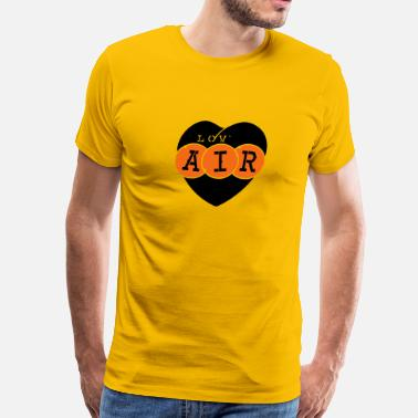 Lov lov air_vec_3 us - Men's Premium T-Shirt