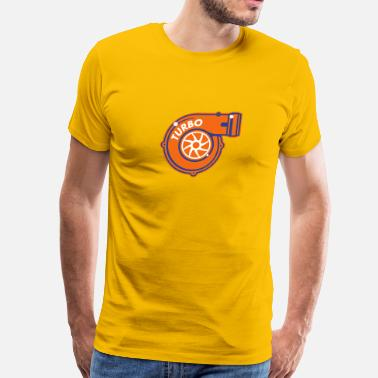 Turbocharged Turbocharger - Men's Premium T-Shirt