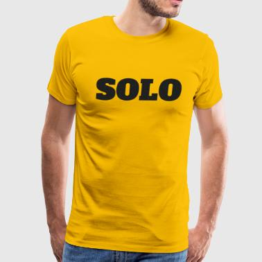 SOLO DESIGN - Men's Premium T-Shirt