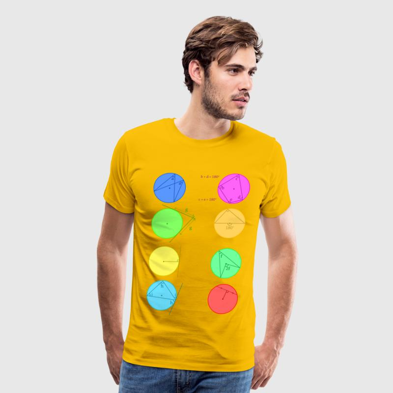 Circle Theorem - Men's Premium T-Shirt