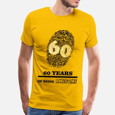 Celebrating 60 Years 60 Years - Men's Premium T-Shirt
