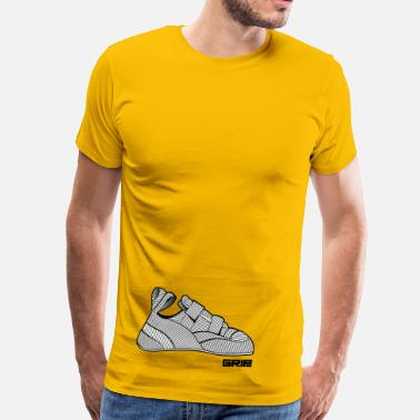 Vertical Line - Men's Premium T-Shirt