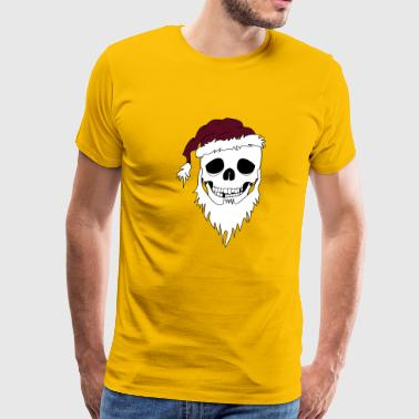 christmas skull - Men's Premium T-Shirt