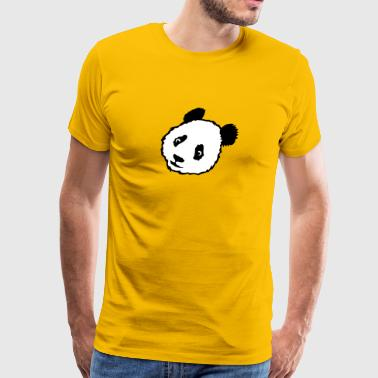 animal panda teddy 1305 - Men's Premium T-Shirt
