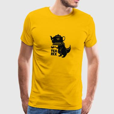 """tea Rex"" Tea Rex - Men's Premium T-Shirt"