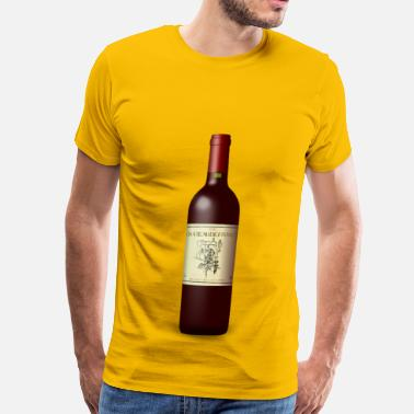 Bordeaux Wine French Wine Bordeaux Bott - Men's Premium T-Shirt
