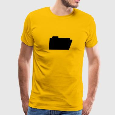 File Folder - Men's Premium T-Shirt