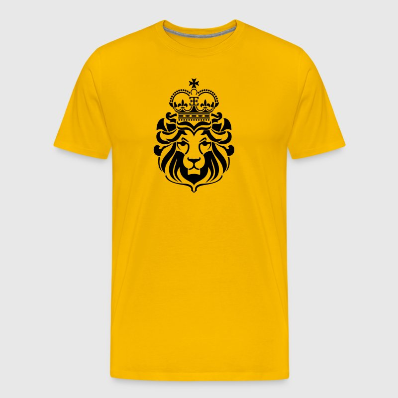 Lion of Zion - Men's Premium T-Shirt