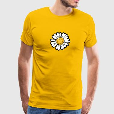 SmileyWorld Daisy Smiley - Men's Premium T-Shirt