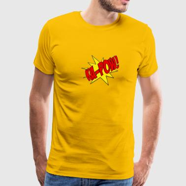 Ka-Pow comic book sfx  - Men's Premium T-Shirt