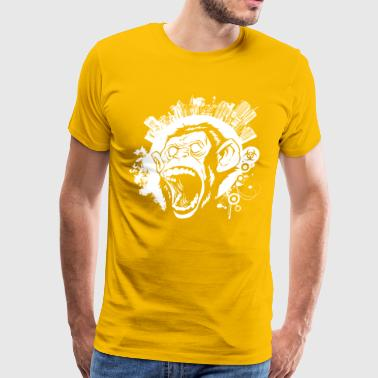 Loud City Urban Monkey - Men's Premium T-Shirt