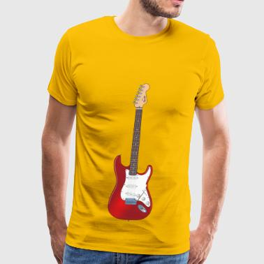 classic rock guitar - Men's Premium T-Shirt