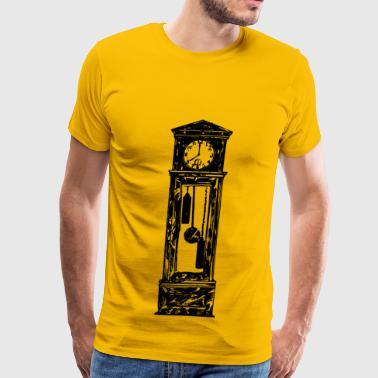 Alarm Clock Grandfather Clock - Men's Premium T-Shirt