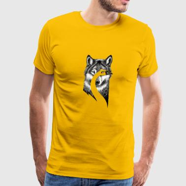 Beauty or Beast - Men's Premium T-Shirt