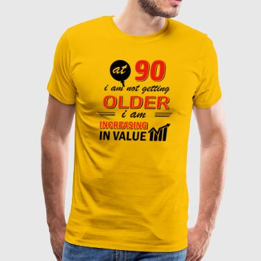 Funny 90 year old gifts - Men's Premium T-Shirt
