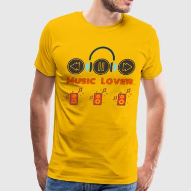 Music Lover - Men's Premium T-Shirt