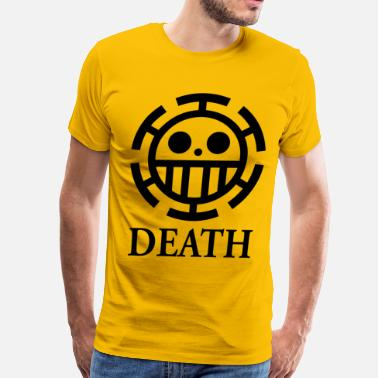 Nico Robin death yellow shirt - Men's Premium T-Shirt