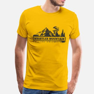 Whistler Whistler Mountain - Men's Premium T-Shirt