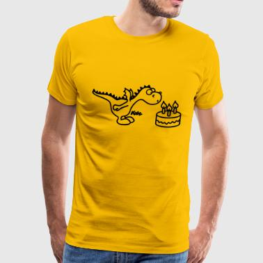Happy Birthday Little Dragon - Men's Premium T-Shirt