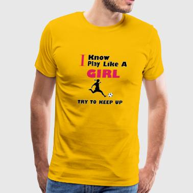 Try to keep up - Men's Premium T-Shirt