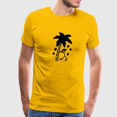 Professional coconut shaker - Men's Premium T-Shirt