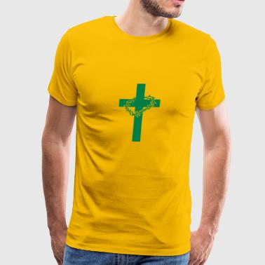 Thorns Cross and thorns icon - Men's Premium T-Shirt