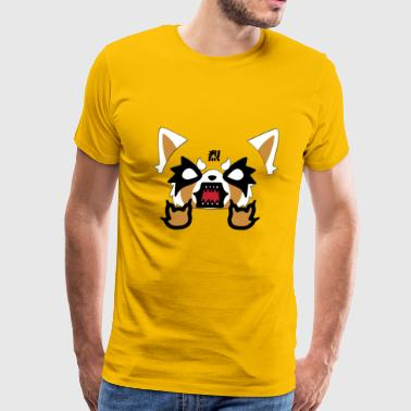 Aggretsuko Rage Mood - Men's Premium T-Shirt