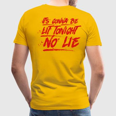 Baywatch soundtrack No Lie - Men's Premium T-Shirt