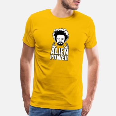 Alien power - Men's Premium T-Shirt
