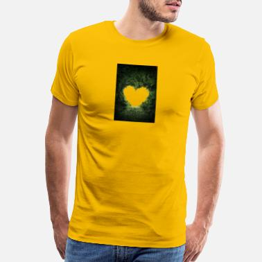 Greenery GREEN HEART - Men's Premium T-Shirt
