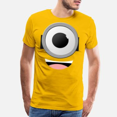 Minion Couple Minion Eyes - Men's Premium T-Shirt