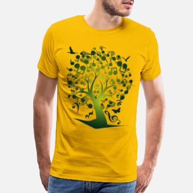 Tree The_Music_Tree - Men's Premium T-Shirt