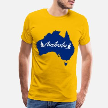 Made In Australia AUSTRALIA FLAG - Men's Premium T-Shirt