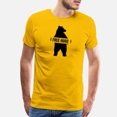 Hug Free hugs - Men's Premium T-Shirt