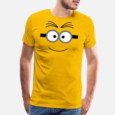 Rick And Morty Happy Minion - Men's Premium T-Shirt