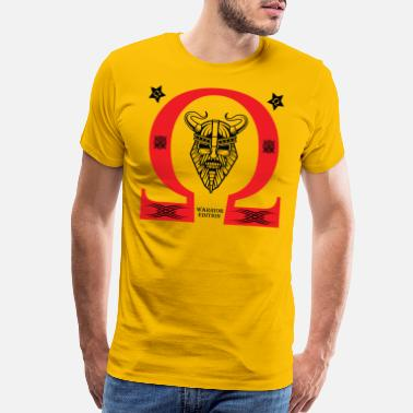 Alpha Omega OHM WARRIOR - Men's Premium T-Shirt