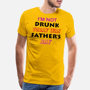 Fuck Fathers Day father's day - Men's Premium T-Shirt