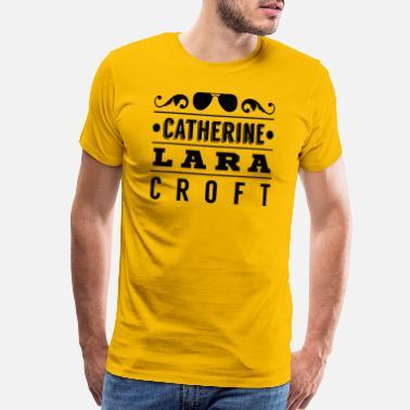 597ada58b40 Lara Croft catherine lara croft - Men s Premium T-Shirt