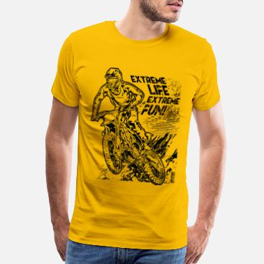 Motocross Extreme Fun MX - Men's Premium T-Shirt
