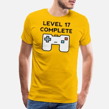 17th Level 17 Complete 17th Birthday - Men's Premium T-Shirt