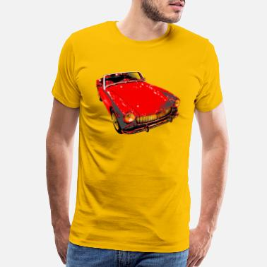 Vintage Collection MG Midget - Men's Premium T-Shirt