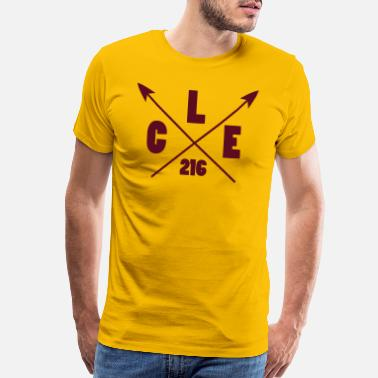 Cleveland Cleveland Arrow - Men's Premium T-Shirt