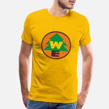 Explorer Up – Wilderness Explorer - Men's Premium T-Shirt